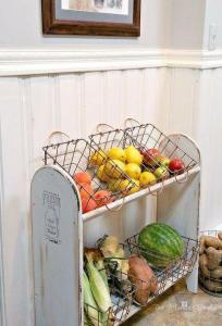 Shoe Rack Vegetable Bin
