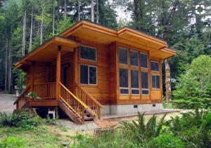 beautifull log cabin