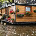 beautiful floating home
