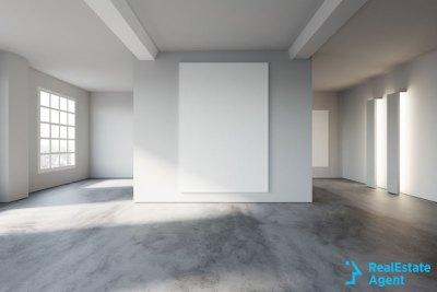 converted warehouse into white loft
