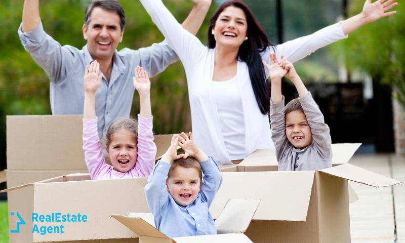 family making moving fun