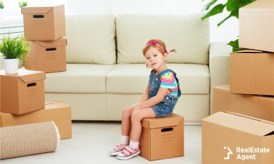 child dealing with the emotional stress of relocating