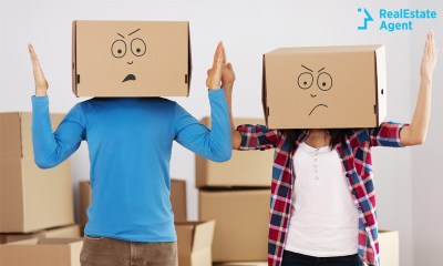 couple worried about a stressful move