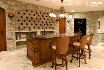 wine cellar and bar