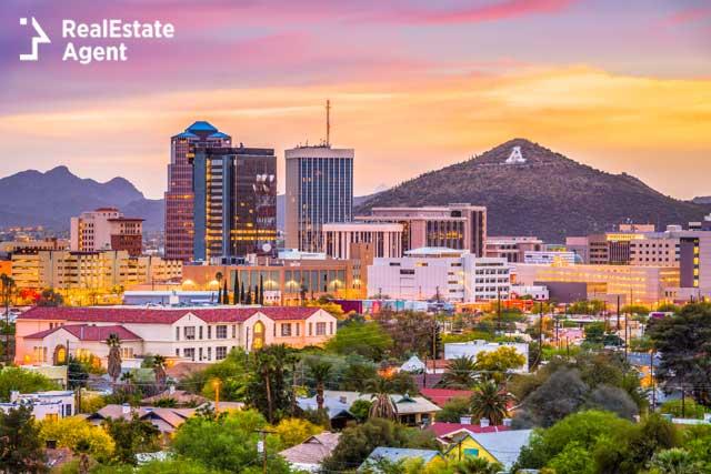 Tucson Arizona downtown view