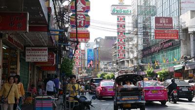 Chinatown crowded street