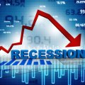 Recession visual representation