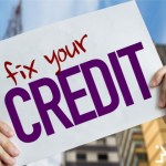 fix your credit placard