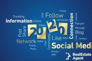 social media concept 2020