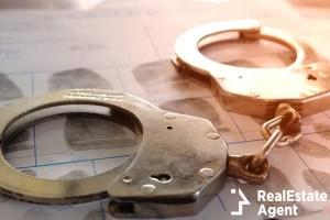 crime violence handcuffs concept