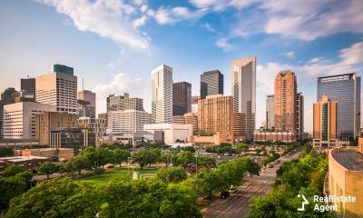 Skyline of Houston TX