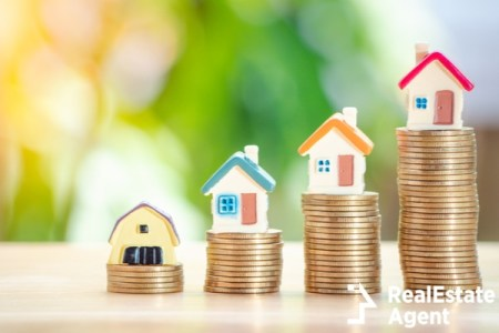 home or houses on gold coins