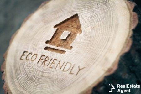 Ecological theme eco friendly house