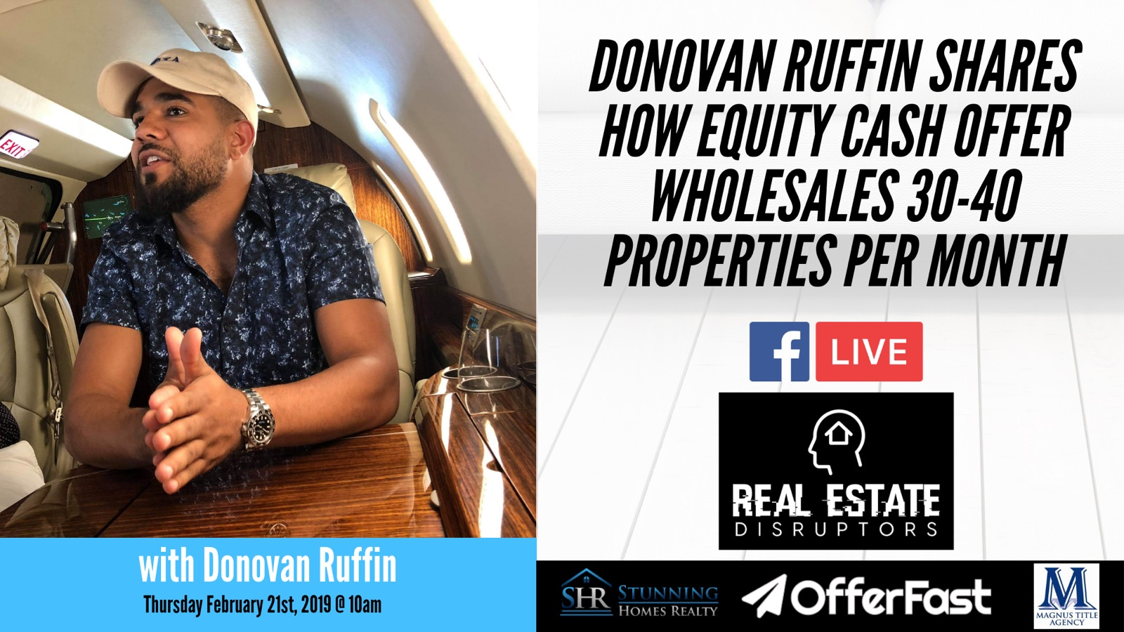 Donovan Ruffin Shares How Equity Cash Offers Wholesales 30-40 Properties per Month