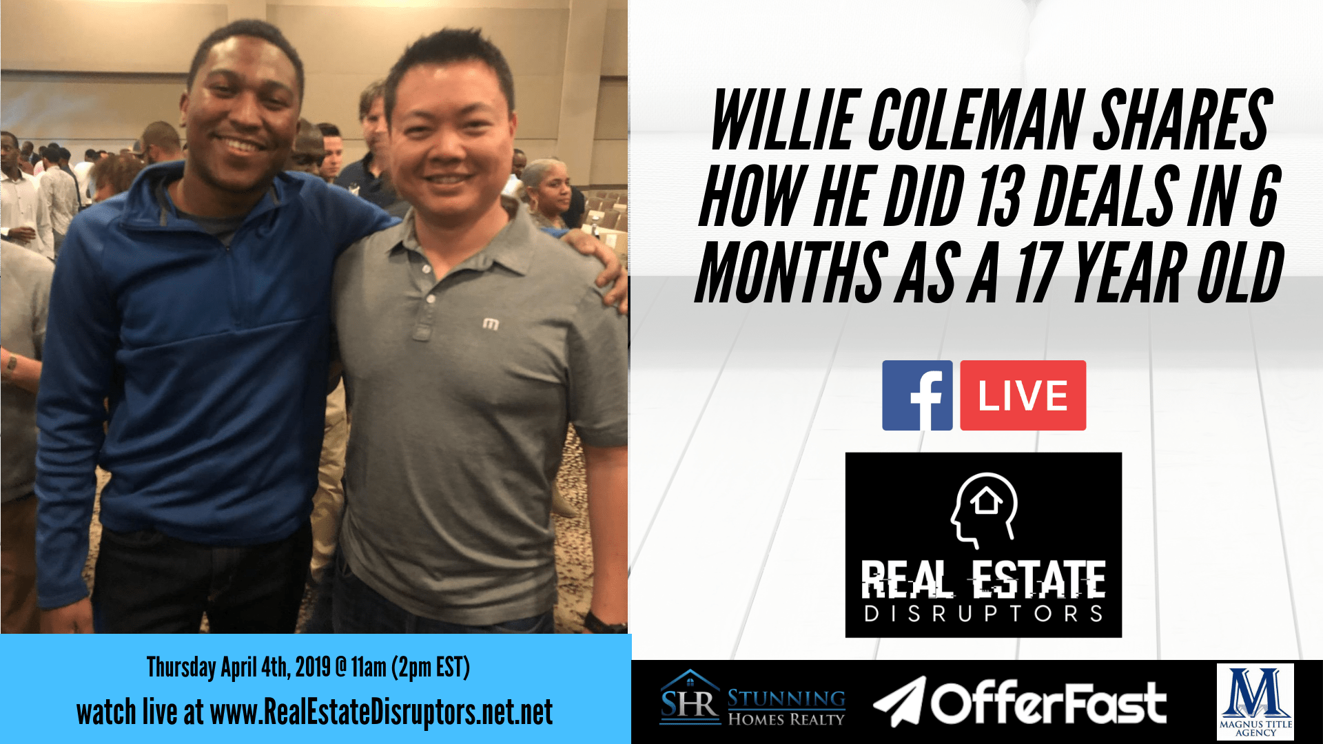 Willie Coleman Shares How He's Wholesaled 18 Properties Before Turning 18