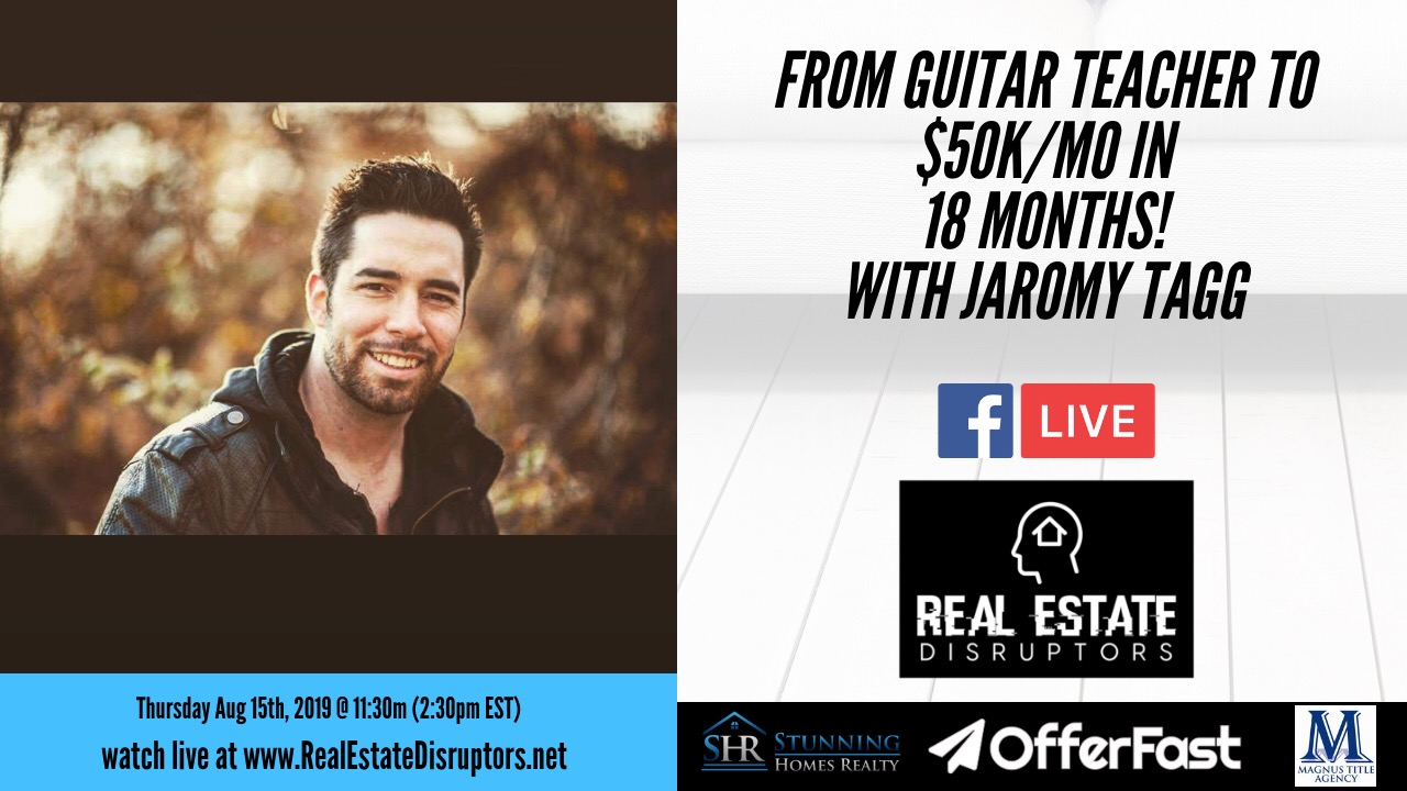Jaromy Tagg Shares How He Went From Guitar Teacher to $50k/mo in 18 Months