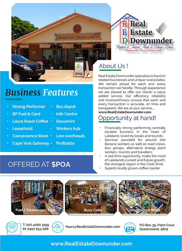 Lakeland Coffee House Store for sale