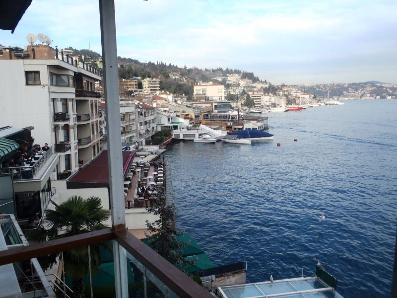 Sea front Istanbul amazing Bebek apartment for sale 3