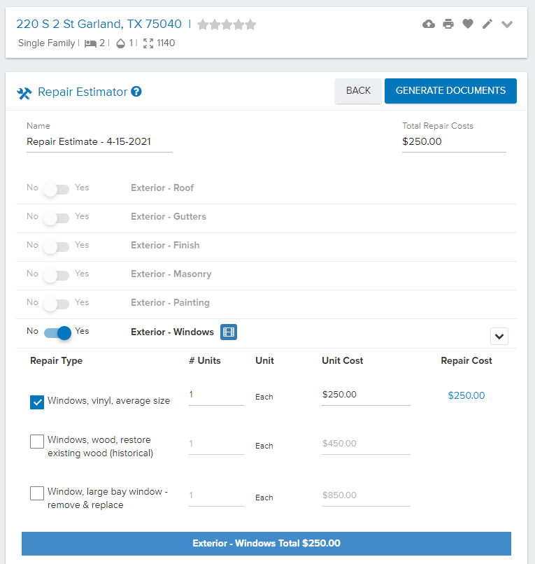 realeflow repair estimator review
