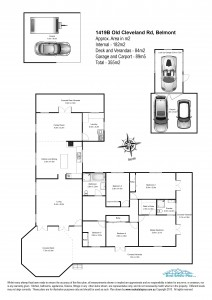 Floor plan for real estate