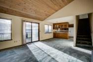 livingrm-kitchen-balcony Mariner's Cove Multi-Level View Home