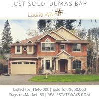 Just Sold Dumas Bay!