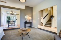 living-dining-staircase Laurie Announces | Everett Tri-Level | 6 109th Place SE