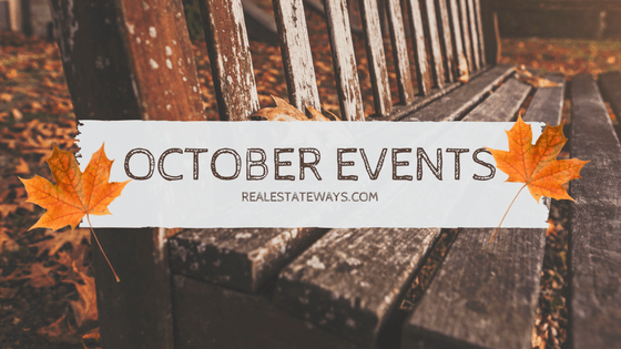 october-events October Events!