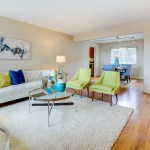 livingrm-diningrm SOLD for $105,000 more than asking! Queen Anne View Condominium!