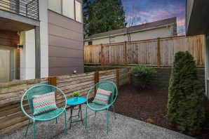 patio JUST LISTED | WEST SEATTLE MODERN