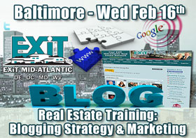 Baltimore Real Estate Blog Strategy Training
