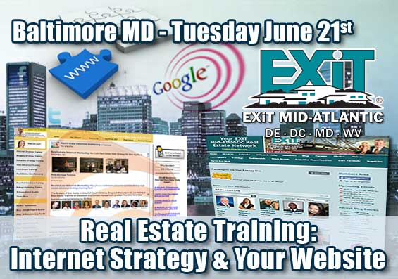 Baltimore Real Estate Internet Strategy Training