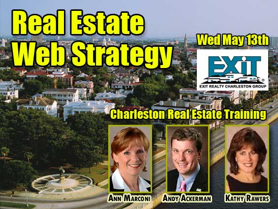 Charleston Real Estate Web Strategy Training Wednesday May 13th, 2009