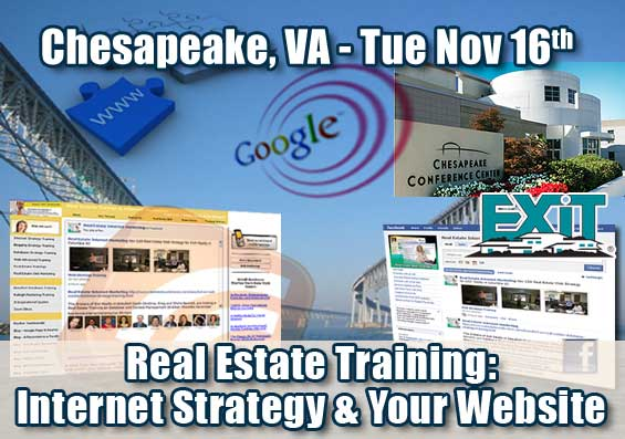 Chesapeake Real Estate Internet Strategy Training