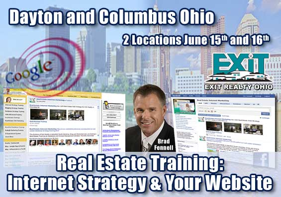 Dayton and Columbus OH Real Estate Web Strategy Trainings – EXIT Realty
