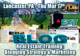 Lancaster Real Estate Blog Strategy Training for EXIT PA