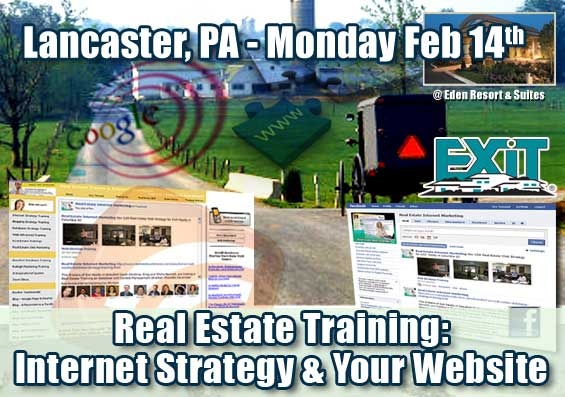 Lancaster Real Estate Internet Strategy Training