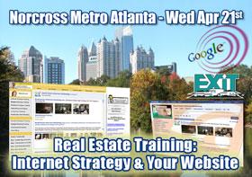 Norcross Metro Atlanta Real Estate Web Strategy Training