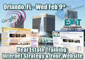 Orlando Real Estate Web Strategy Training