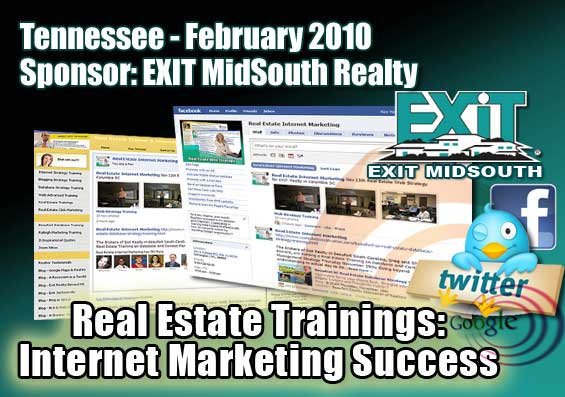 Tennessee Real Estate Trainings: Internet Marketing Success - Seminar Designed by Key Yessaad