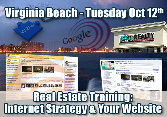Virginia Beach Real Estate Internet Strategy Training