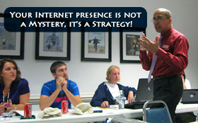 Your Internet presence is Not a Mystery - it's a Strategy!!!