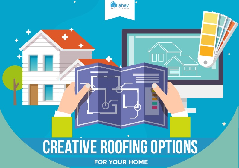 Creative Roofing Options for Your Home [Infographic]