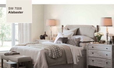 Alabaster by Sherwin Williams