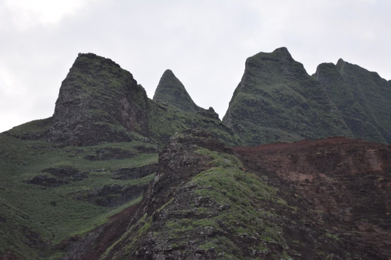 Fluted cliffs of the Na Pali Coast