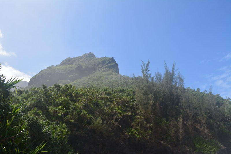 Na Pali Fluted Cliff