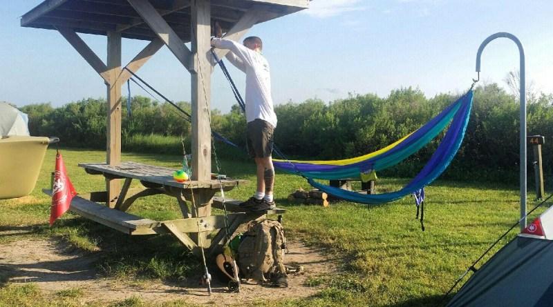 Galveston Island State Park Campground