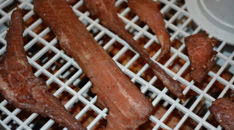 Dry beef jerky