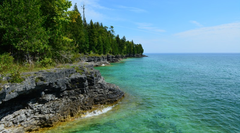 Door County Cave Point