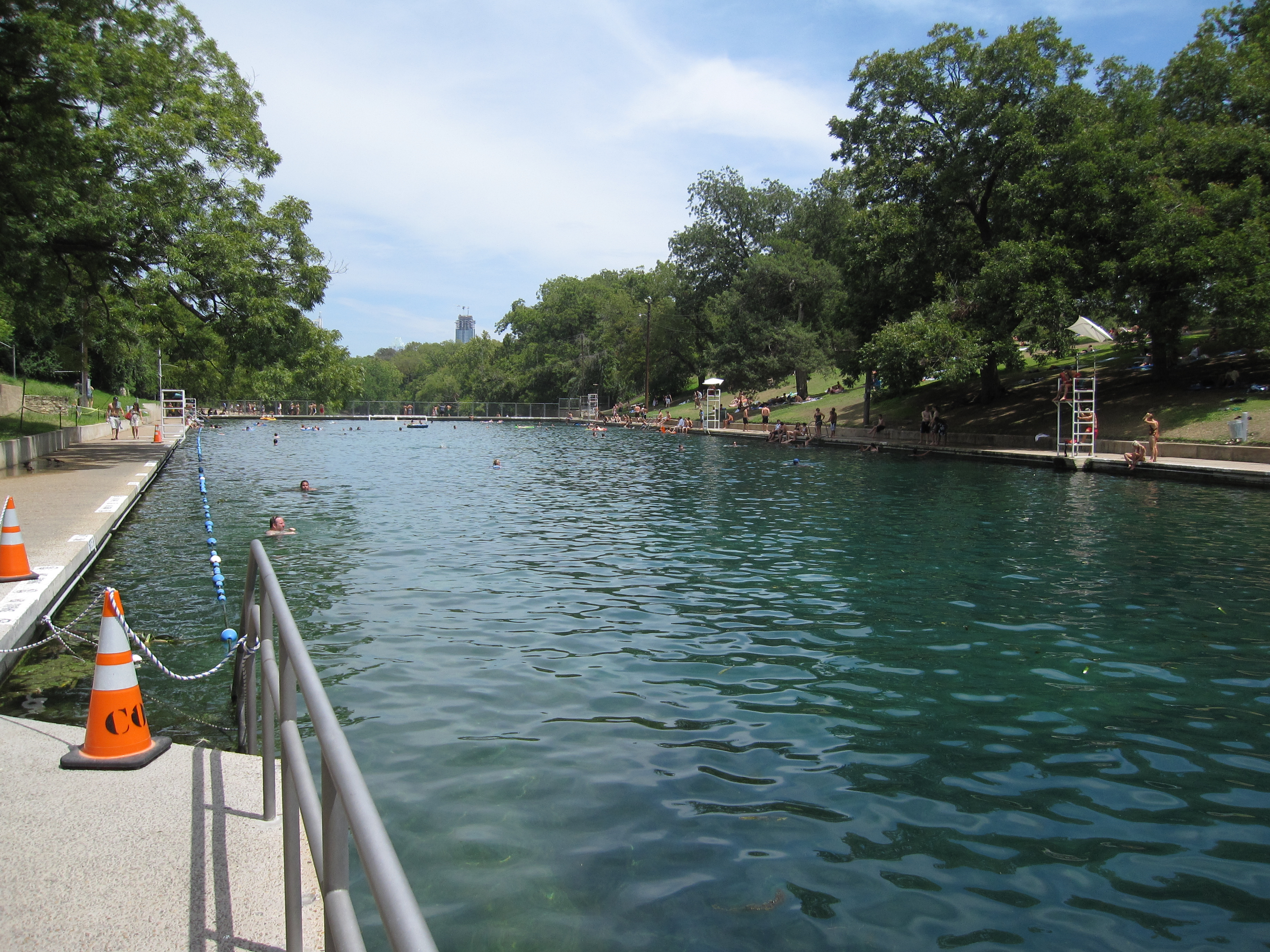 Barton Springs Pool Amazing Swimming Hole In Austin Texas Realest Nature
